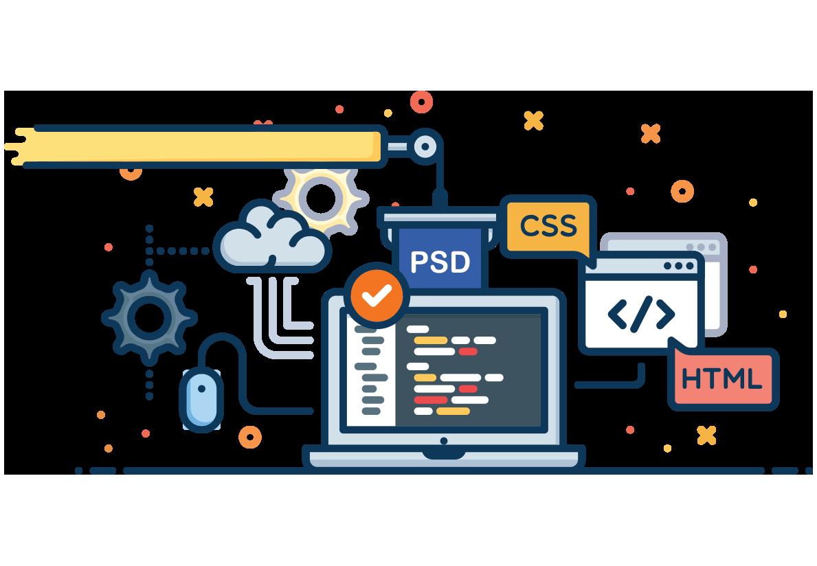 PSD naar HTML